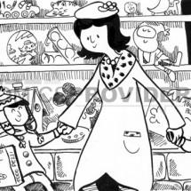 illustrazione negozio