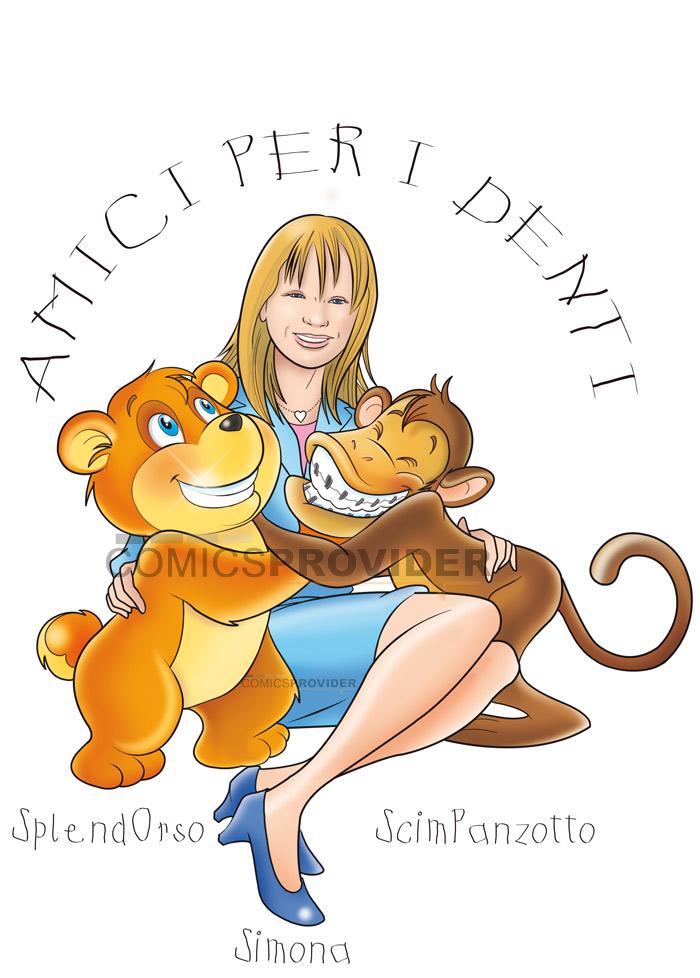 logo dentista disegno