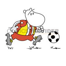 mascotte calcio bambini