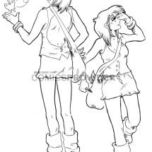 studio personaggi manga