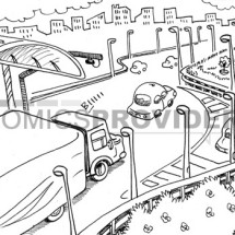 disegno traffico