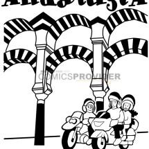 logo moto Andalusia