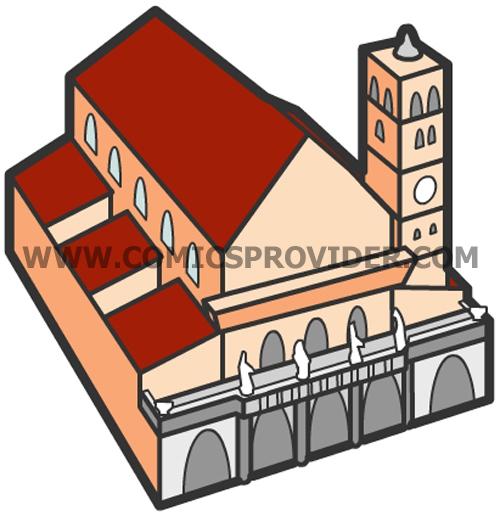 monumenti_disegnati_santa_maria_in_trastevere